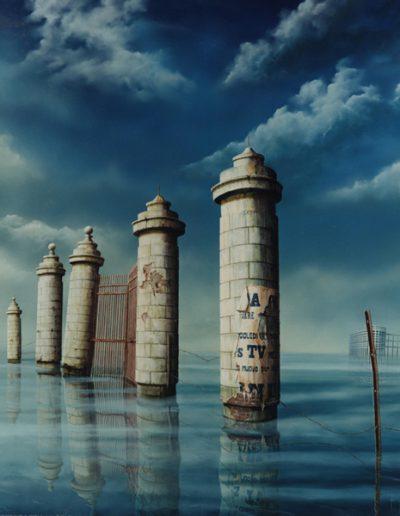 1993 Verdronken aarde IX