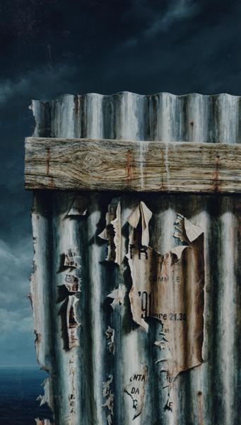 1993 Verdronken aarde XII