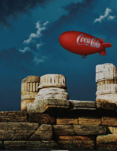 2009 Coca Cola in Paestum